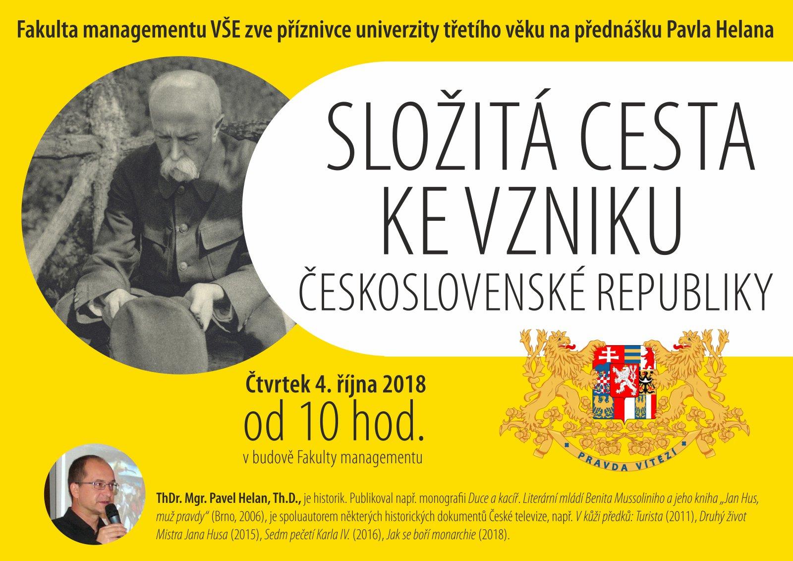 Složitá cesta ke vzniku Československé republiky